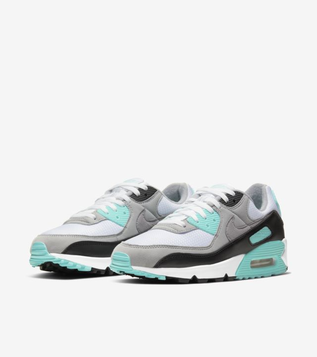 Air Max 90 Hyper Turquoise/Particle Grey [4]