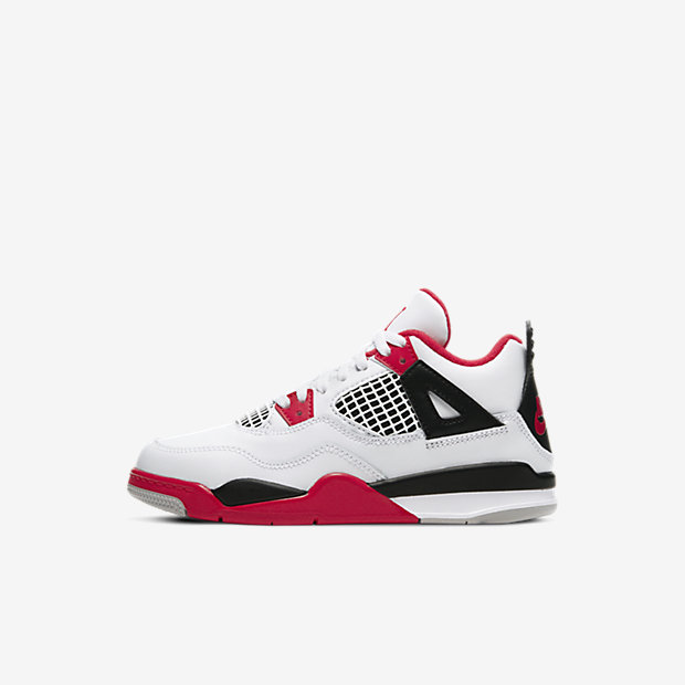 "Air Jordan 4 ""Fire Red"" (PSサイズ)"