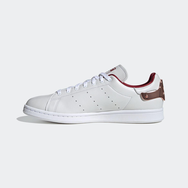 Stan Smith Footwear White/College Burgundy [2]