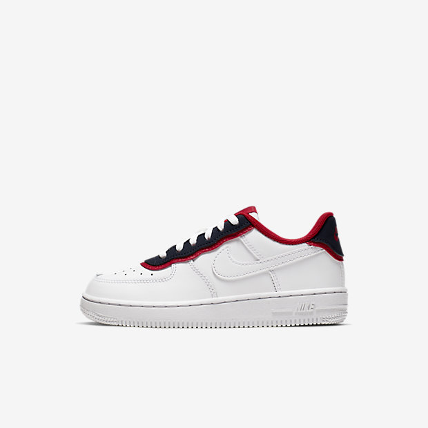 Air Force 1 Low Double Layer White Obsidian Red (PSサイズ)