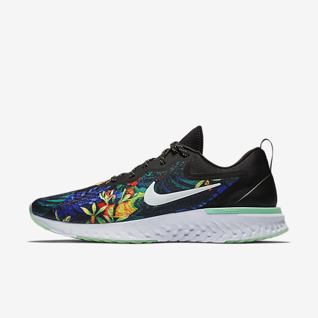 Odyssey React Floral Black