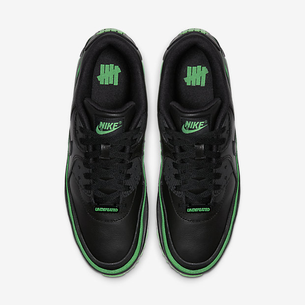 Air Max 90 Undefeated Black Green [3]