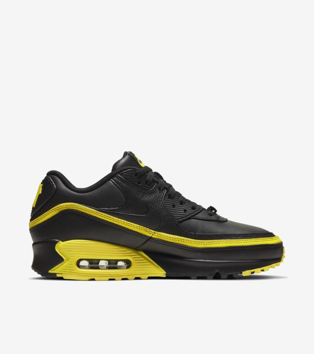Air Max 90 Undefeated Black/Opti Yellow [2]