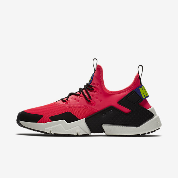 Air Huarache Drift Flash Crimson Black