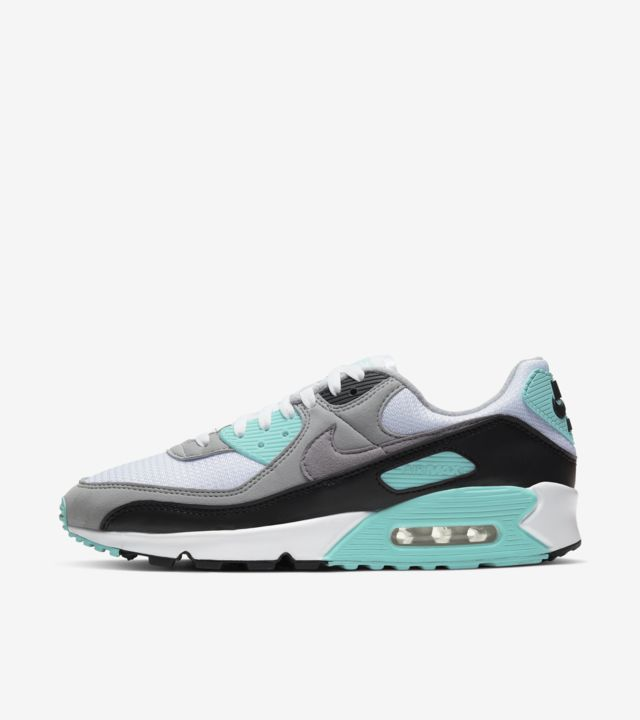Air Max 90 Hyper Turquoise/Particle Grey [1]