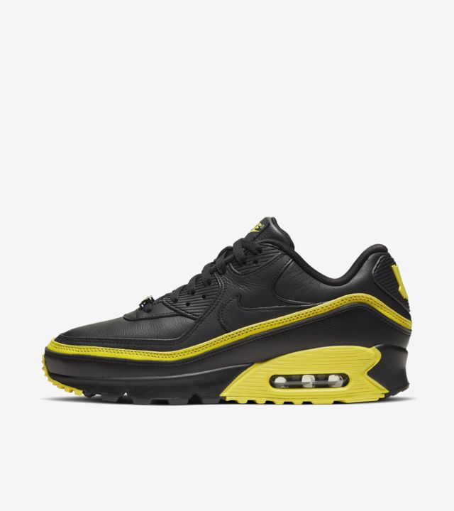 Air Max 90 Undefeated Black/Opti Yellow [1]