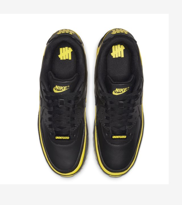 Air Max 90 Undefeated Black/Opti Yellow [3]