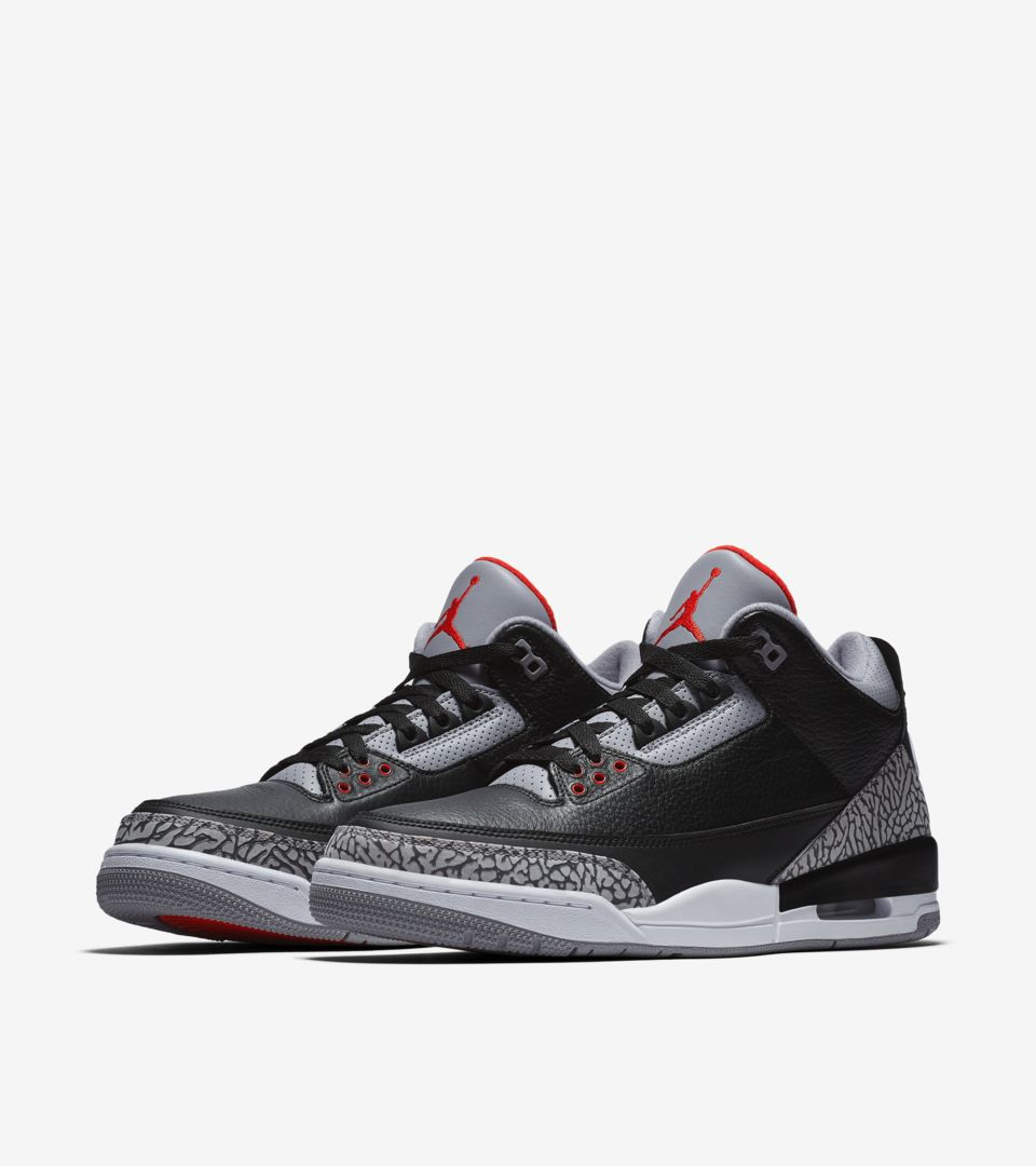 Air Jordan 3 Retro Black Cement (2018) [4]