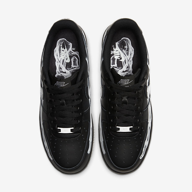 Air Force Skeleton Black on Black [3]