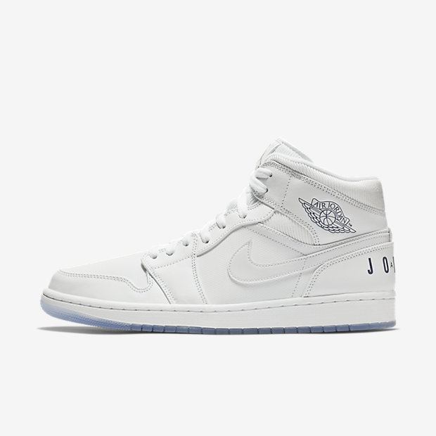 Air Jordan 1 Mid Pure White