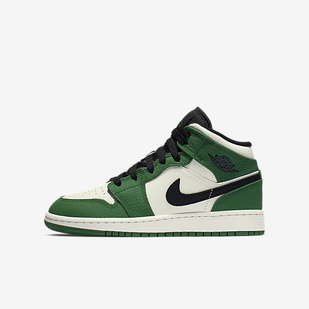 Air Jordan 1 Mid Pine Green (GSサイズ)