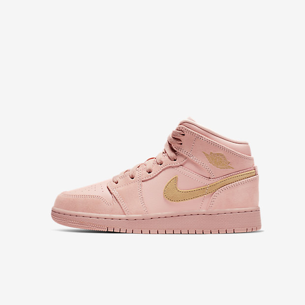Air Jordan 1 Mid Coral Gold (GSサイズ)