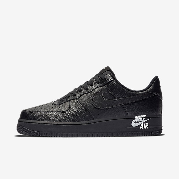 Air Force 1 Low Black Black White