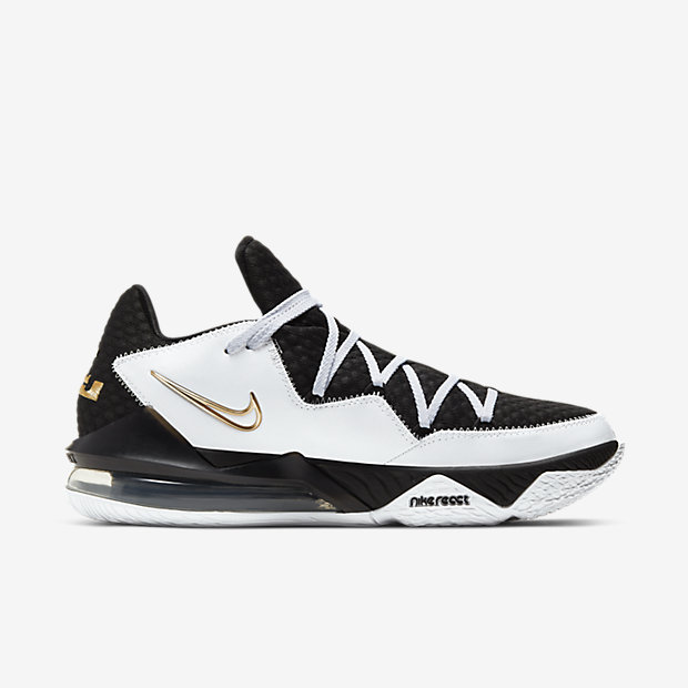 LeBron 17 Low White Metallic Gold [2]