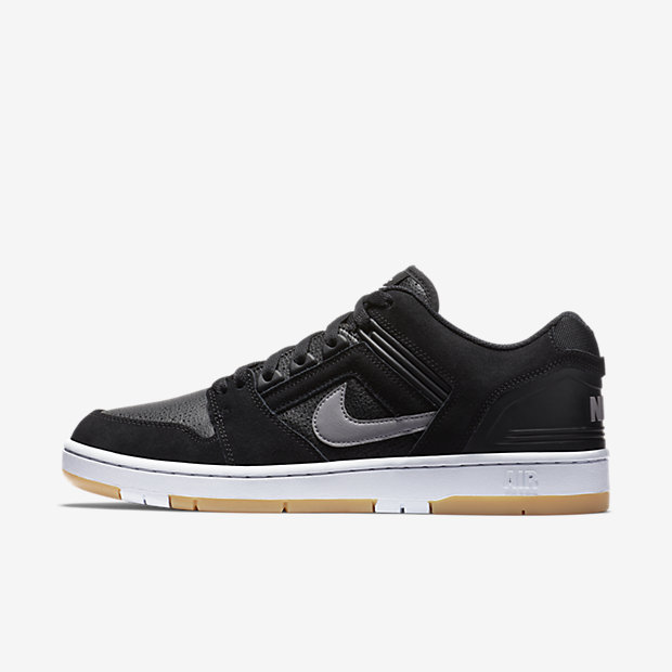 SB Air Force 2 Low Black Grey Gum