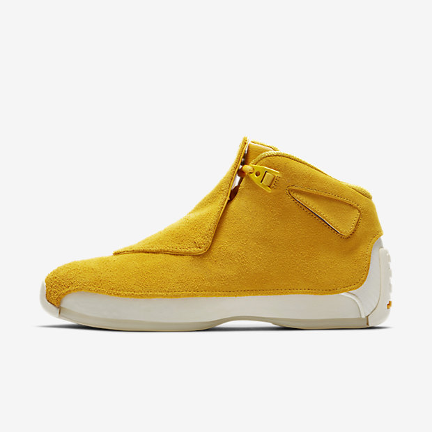 Air Jordan 18 Retro Yellow Ochre