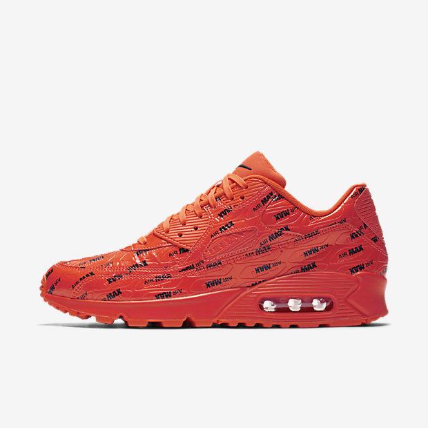 Air Max 90 Just Do It Pack Bright Crimson