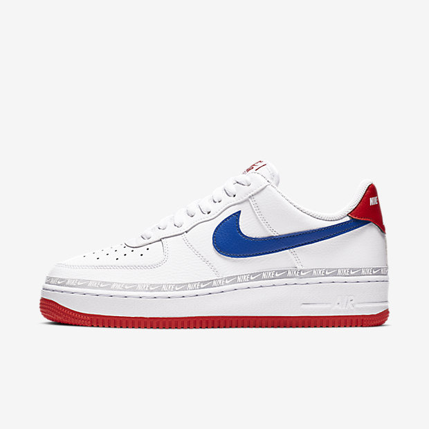 Air Force 1 Low Overbranding White Red Blue