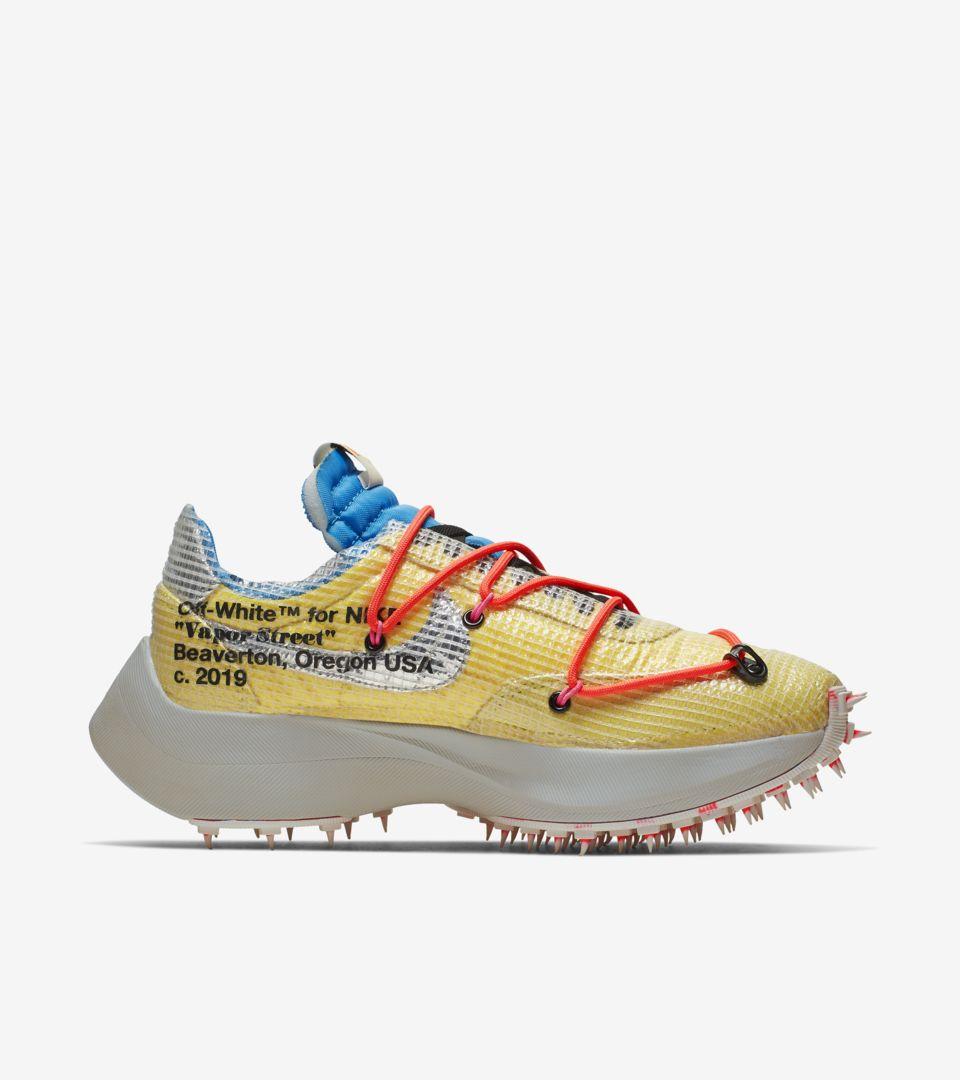 Nike x Off-White Vapor Street Athlete in Progress Yellow (ウィメンズ)(オフホワイト) [2]