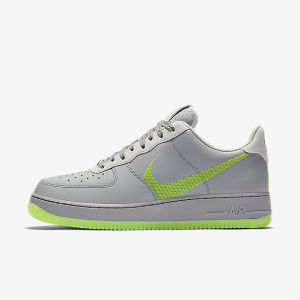 Air Force 1 Low Wolf Grey Ghost Green
