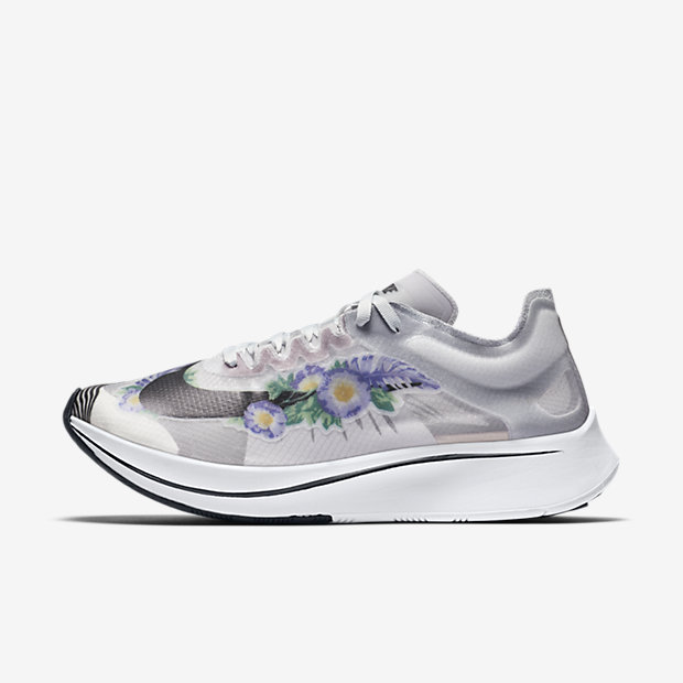 Zoom Fly Pure Platinum Floral (ウィメンズ)