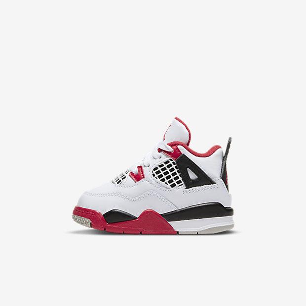 "Air Jordan 4 ""Fire Red"" (TDサイズ)"