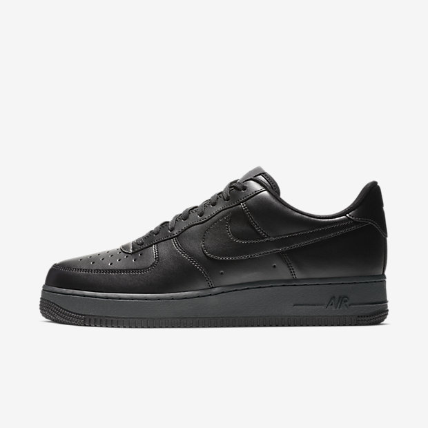 Air Force 1 Flyleather Black