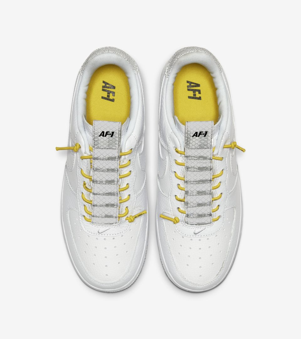 Air Force 1 Lux White/Chrome yellow (ウィメンズ) [3]
