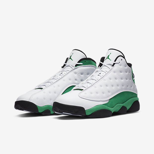 Air Jordan 13 Retro Lucky Green [4]
