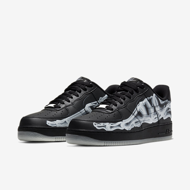 Air Force Skeleton Black on Black [4]