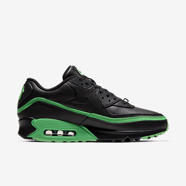 Air Max 90 Undefeated Black Green [2]