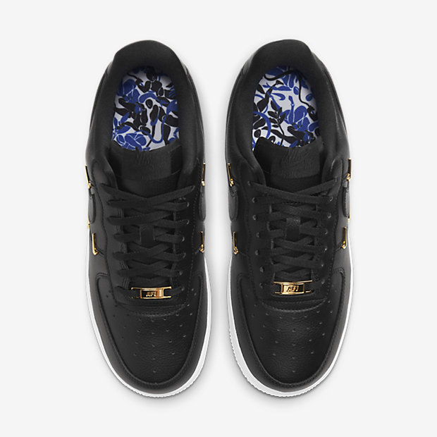 Air Force 1 Low Mini Metallic Swooshes Gold Luxe (ウィメンズ) [3]