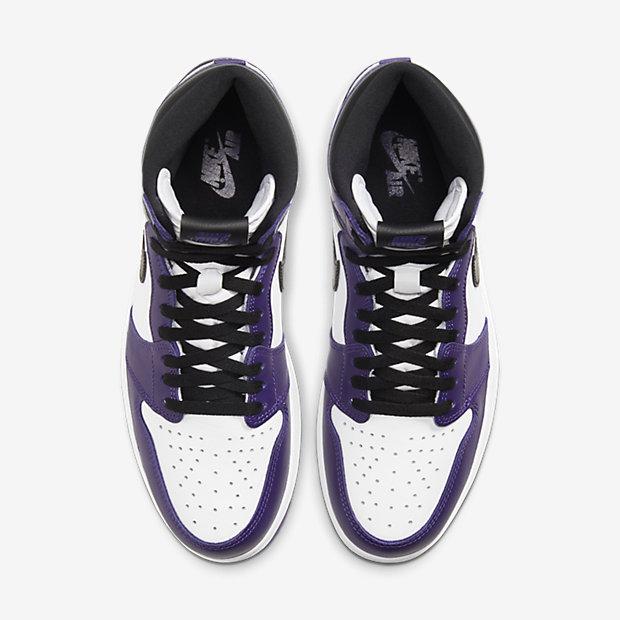 Air Jordan 1 Retro High Court Purple White [3]