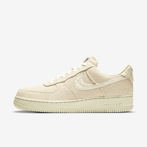 Stussy x Air Force 1 Fossil [1]