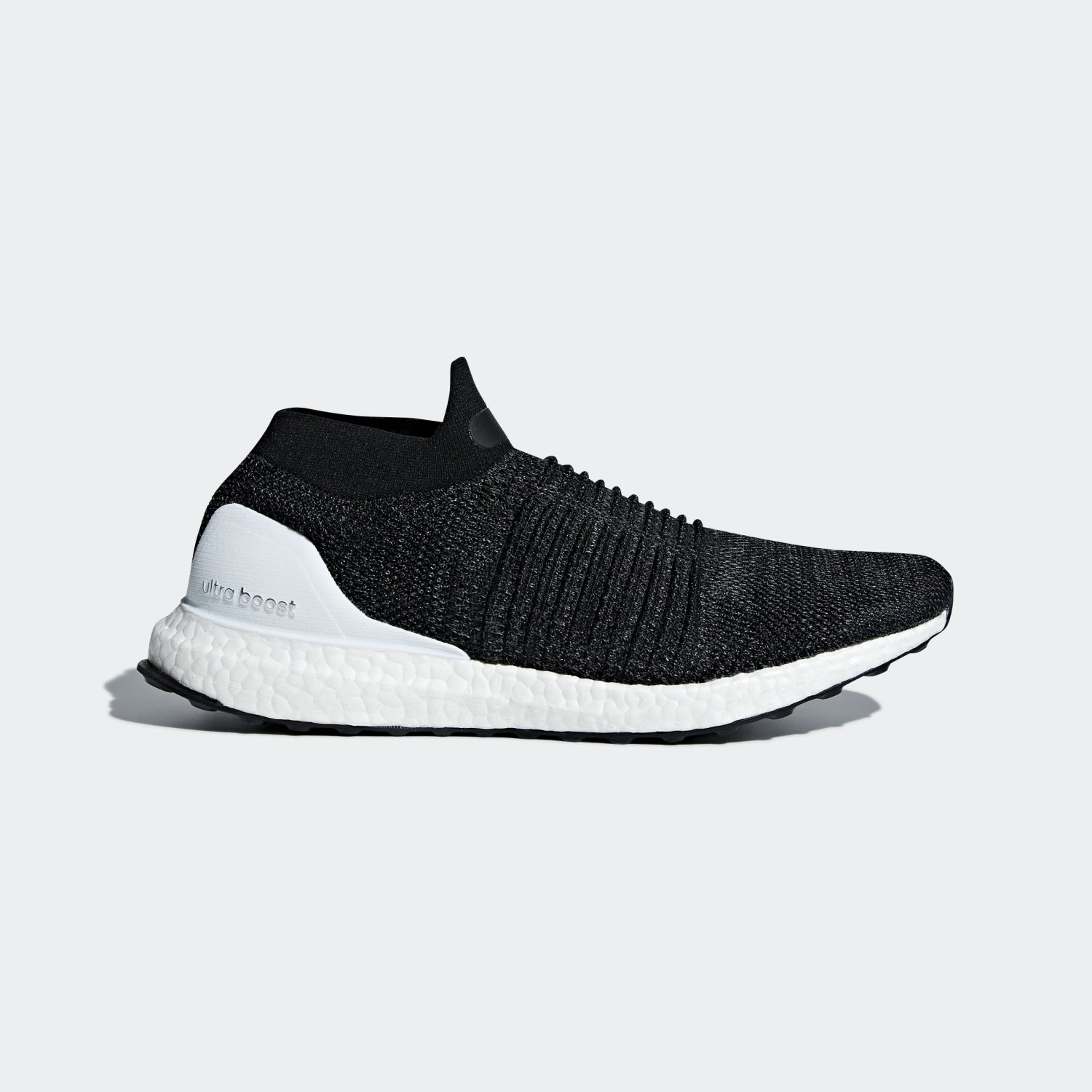 Ultra Boost Laceless Core Black Cloud White