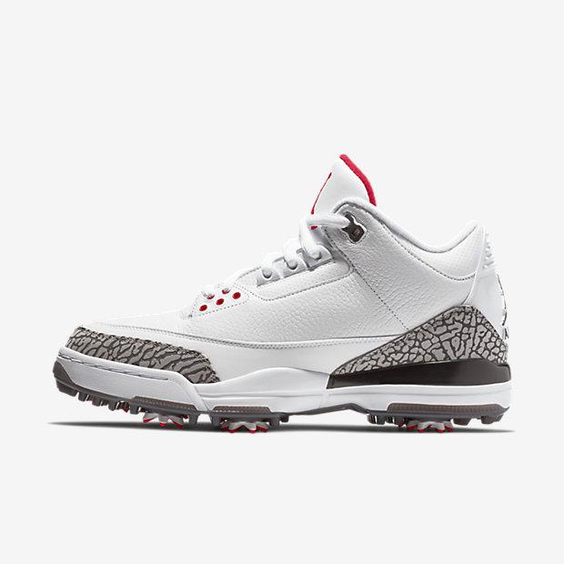 Air Jordan 3 Retro Golf White Cement