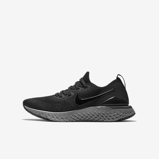 Epic React Flyknit 2 Black Anthracite (GSサイズ)
