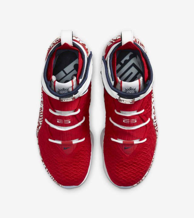 LeBron 17 Graffiti Fire Red [3]