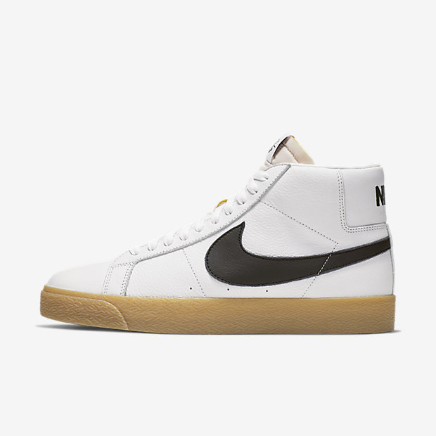 SB Zoom Blazer Mid ISO Orange Label White Gum(ブレーザー)