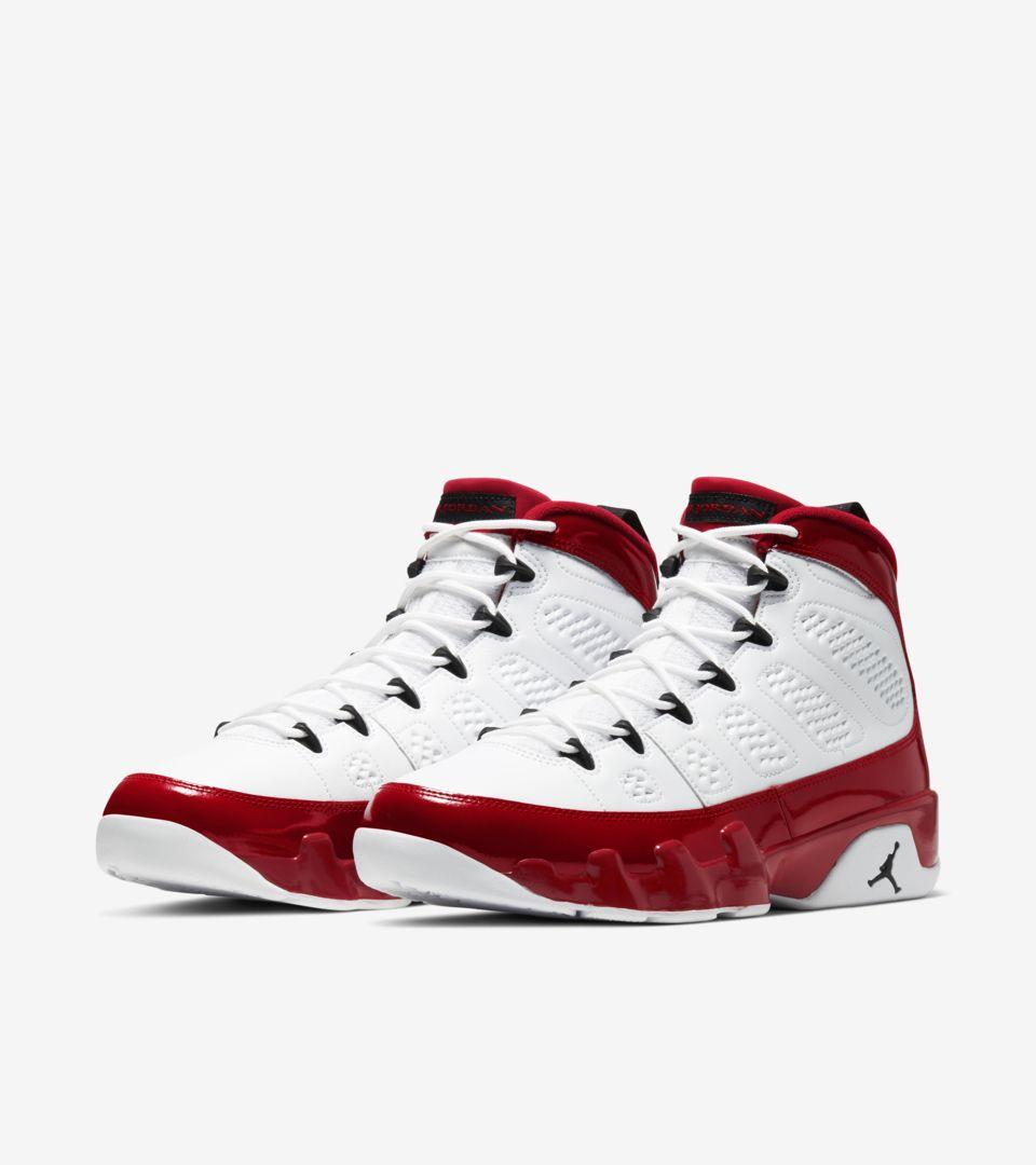 Air Jordan 9 Retro White Gym Red [4]