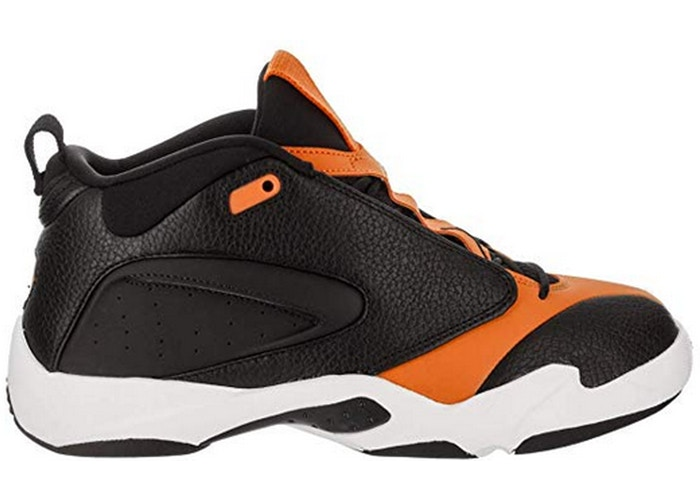 Jordan Jumpman Quick 23 Black Orange Peel