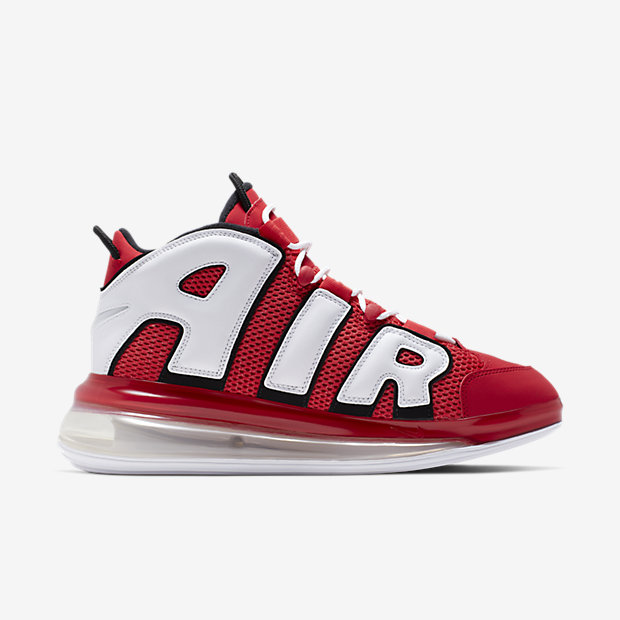 Air More Uptempo 720 University Red White Black(モアテン) [2]