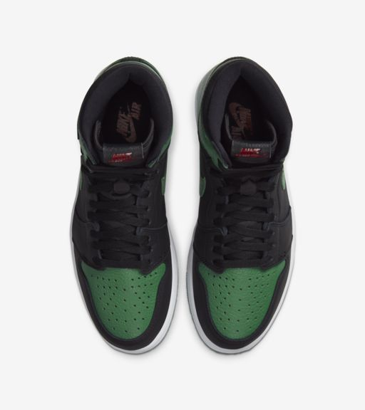 Air Jordan 1 Black/Pine Green [3]
