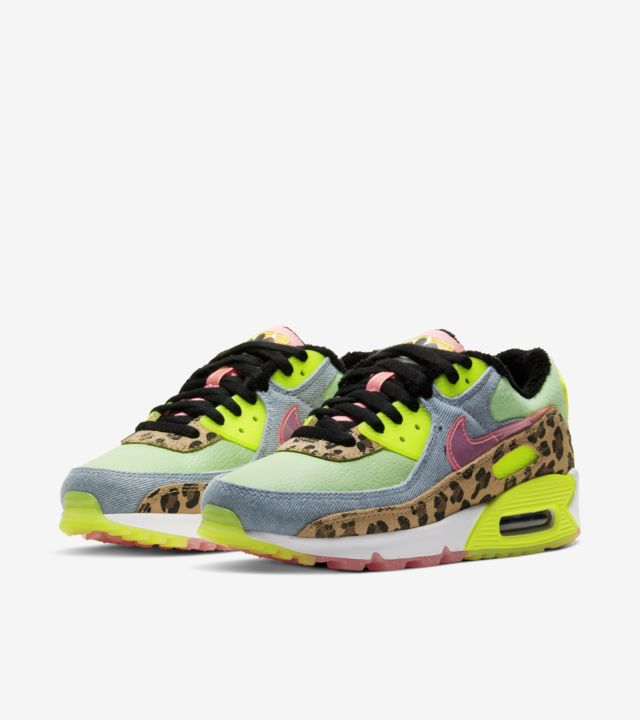 Air Max 90 Illusion Green/Sunset Pulse (ウィメンズ) [4]