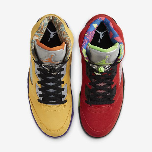 "Air Jordan 5 Retro SE ""What The"" [3]"