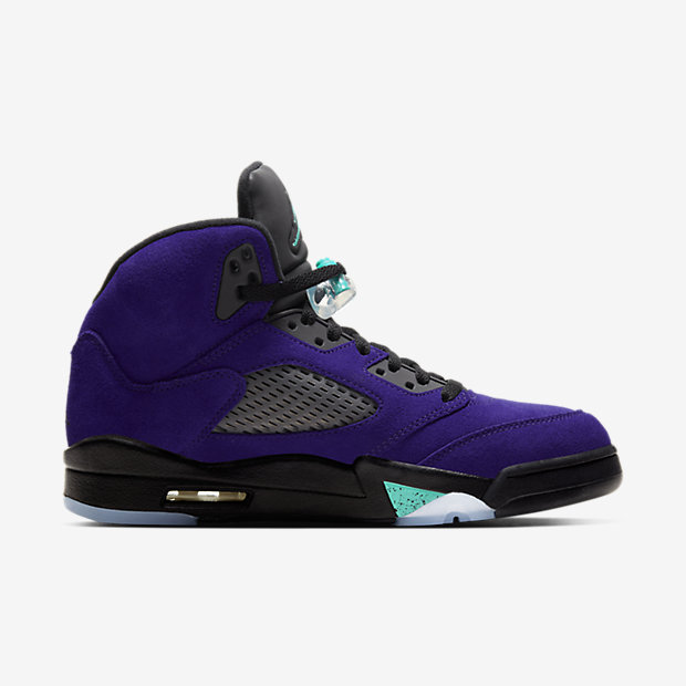 Air Jordan 5 Retro Purple Grape [2]
