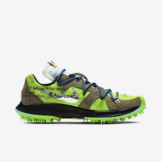 Zoom Terra Kiger 5 Off-White Electric Green (オフホワイト)(ウィメンズ) [2]