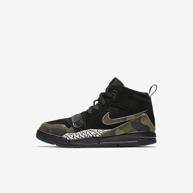 Jordan Legacy 312 Black Camo Green (PSサイズ)