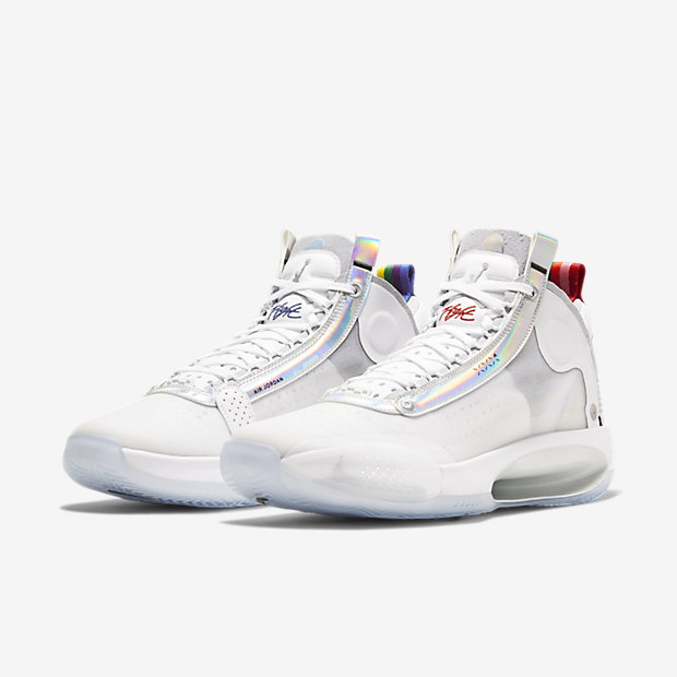 Air Jordan XXXIV White Metallic Silver [4]