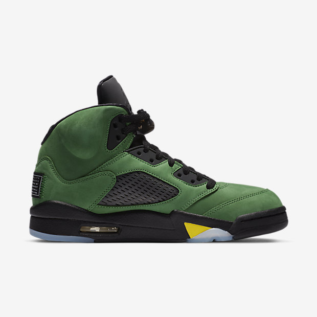 Air Jordan 5 Retro SE Oregon Ducks [2]